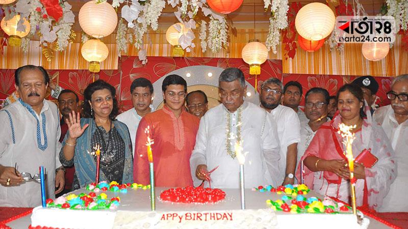 A different type of birthday celebration in Faridpur
