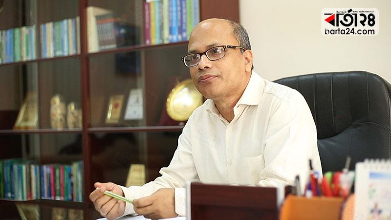 প্রফেসর ড. মোঃ সাজ্জাদ হোসেন, ছবি: বার্তাটোয়েন্টিফোর.কম