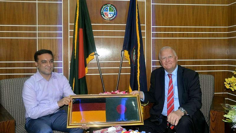 Germany will be with Mymensingh City Corporation for development