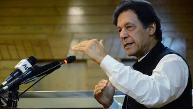 পাকিস্তানের প্রধানমন্ত্রী ইমরান খান, ছবি: সংগৃহীত