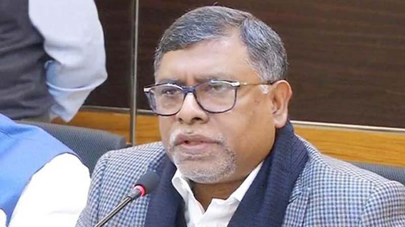স্বাস্থ্যমন্ত্রী জাহিদ মালেক
