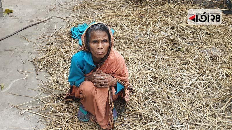 পীরগাছার সত্তরোর্ধ্ব বৃদ্ধা মালতী রাণী/ফাইল ফটো