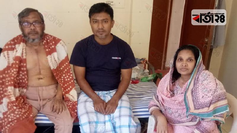 বেঙ্গালুরুতে আটকে পড়া মেহেদী আরিফ ও তার পরিবার