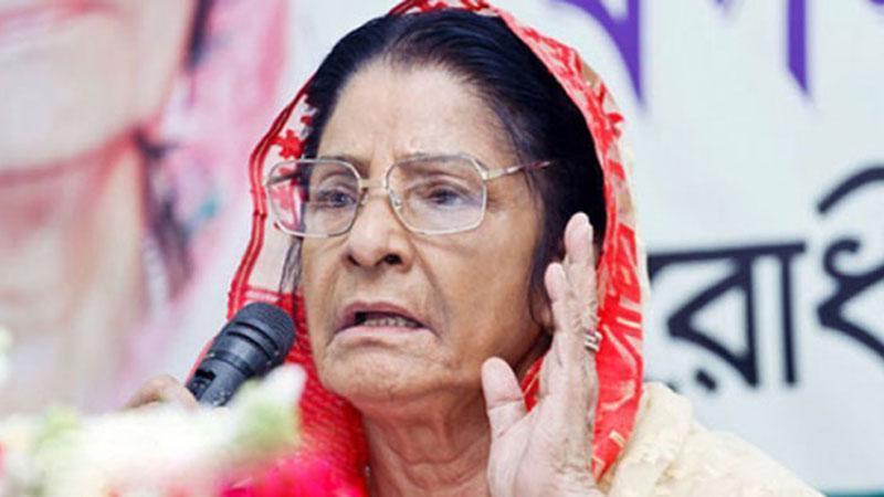 জাতীয় সংসদের বিরোধীদলীয় নেতা রওশন এরশাদ /ছবি: সংগৃহীত