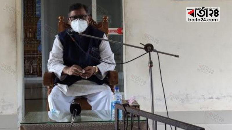 Health minister Zahid Malek Swapan.
