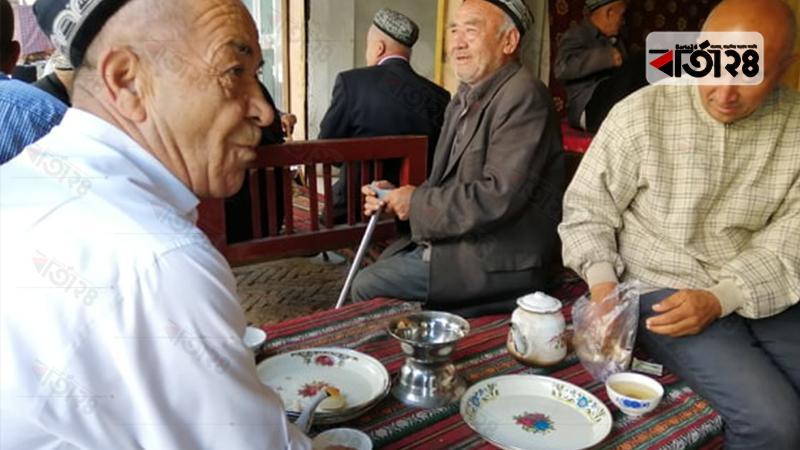 চীনের উইঘুর মুসলিম/ছবি: খুররম জামান