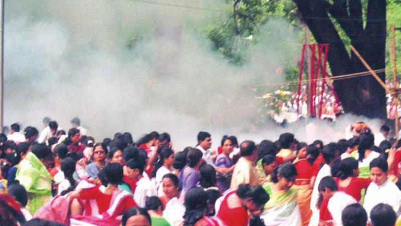 ছায়ানটের বর্ষবরণ অনুষ্ঠানে বোমা হামলা/ ছবি:  সংগৃহীত