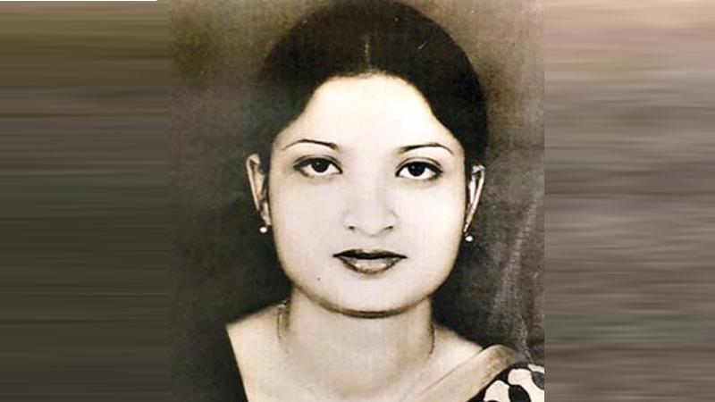১৯৮৯ সালে খুন হওয়া সগিরা মোর্শেদ/ ছবি: সংগৃহীত
