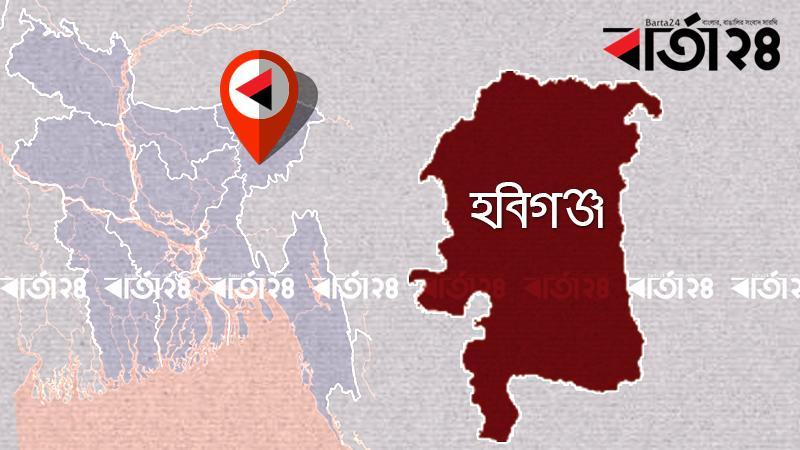 হবিগঞ্জ জেলার মানচিত্র
