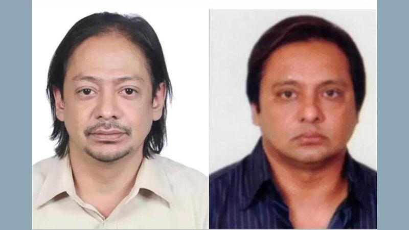 সিকদার গ্রুপের এমডি রন হক সিকদার (বাঁয়ে) ও দিপু হক সিকদার,ছবি: সংগৃহীত