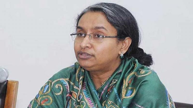 Dr. Dipu Moni/photo: collected