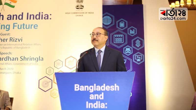 Indian Secretary of External Affairs Harsha Vardhan Shrihgla