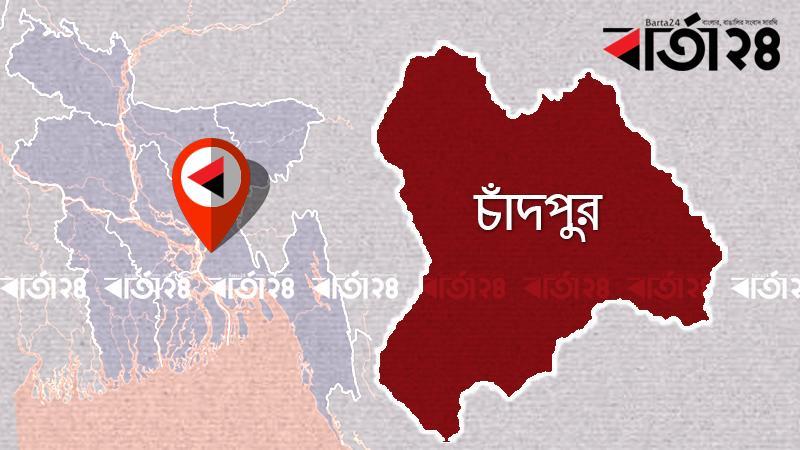 চাঁদপুর জেলার মানচিত্র/ ছবি: বার্তা২৪.কম