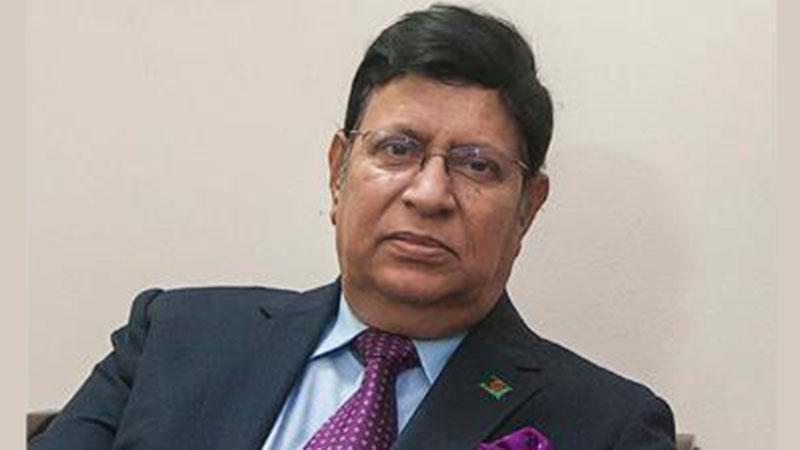 Foreign Minister Dr AK Abdul Momen