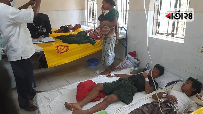লামায় অজ্ঞাত রোগে অসুস্থ হয়ে ৩৩ জন হাসপাতালে ভর্তি