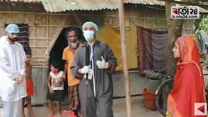 The Corona Street starts its humanitarian mission across Bangladesh led by ENA Chief