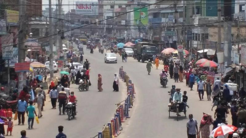 নাটোরে আবারও মার্কেট বন্ধ ঘোষণা করেছে জেলা প্রশাসন