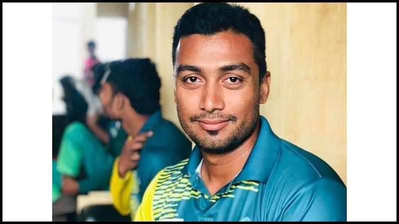 খুলনা জেলা ক্রিকেট দলের অধিনায়ক কাজী রিয়াজুল ইসলাম কাজল