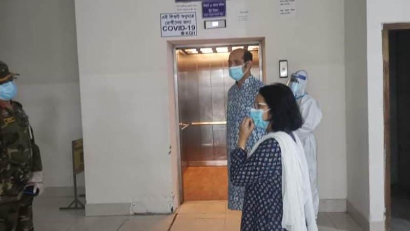 মেয়র মো. আতিকুল ইসলাম ও তার সহধর্মিণী ডা. শায়লা সাগুফতা ইসলাম