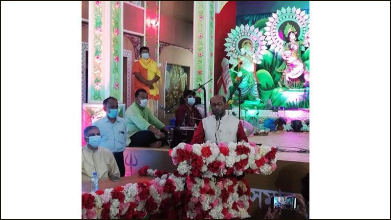 অসাম্প্রদায়িক বাংলাদেশ বিনির্মাণ করেছেন শেখ হাসিনা: শ ম রেজাউল করিম