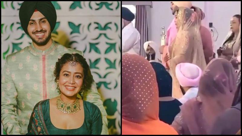নেহা কাক্কার ও রোহানপ্রীত সিংয়ের বিয়ের ছবি