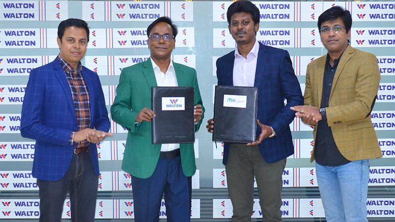 বাংলাদেশ-শ্রীলঙ্কা সিরিজে 'টাইটেল স্পন্সর' ওয়ালটন