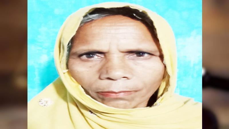 জীবিত সহিদা বেগম