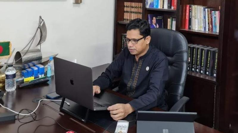 তথ্য ও যোগাযোগ প্রযুক্তি প্রতিমন্ত্রী জুনাইদ আহমেদ পলক