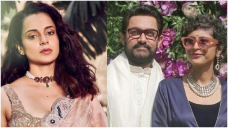 কঙ্গনা রনৌত, কিরণ রাও ও আমির খান