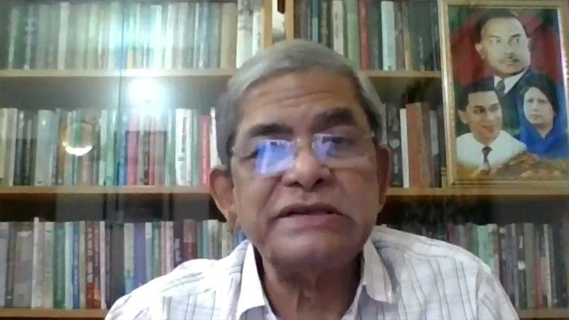 বিএনপির মহাসচিব মির্জা ফখরুল ইসলাম আলমগীর