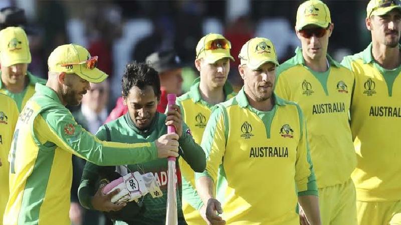বাংলাদেশ-অস্ট্রেলিয়া ক্রিকেট সিরিজ
