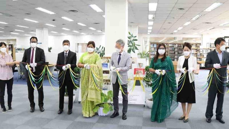 'Bangabandhu Corner' established in the Yonsei University