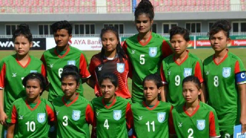 বাংলাদেশের নারী ফুটবলাররা