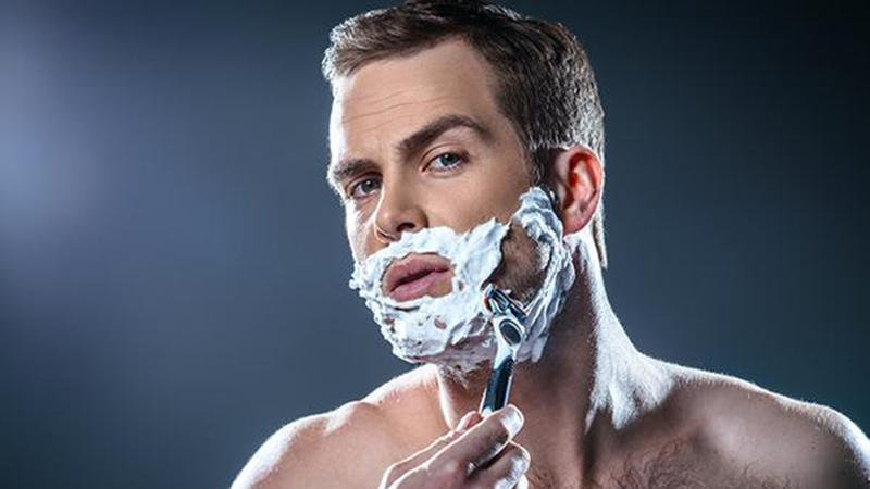 How to shave your face at home