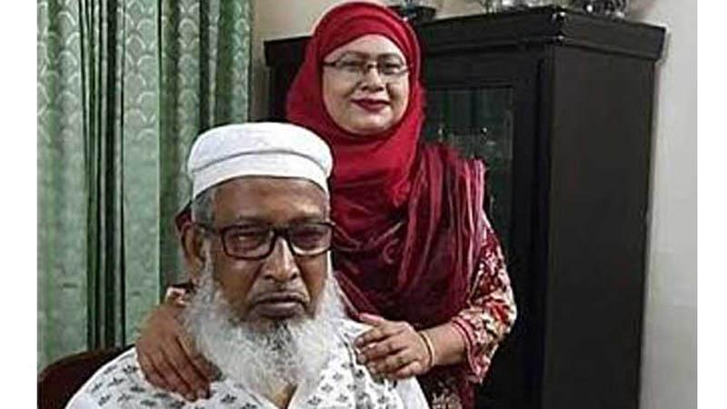 মেয়র হাবিবুর রহমান মালেক ও তার স্ত্রী নীলা রহমানকে