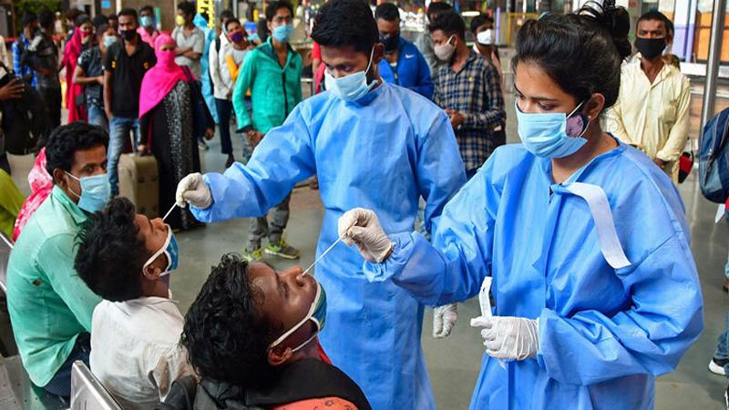 Record 4 lakh covid cases in India, photo: collected