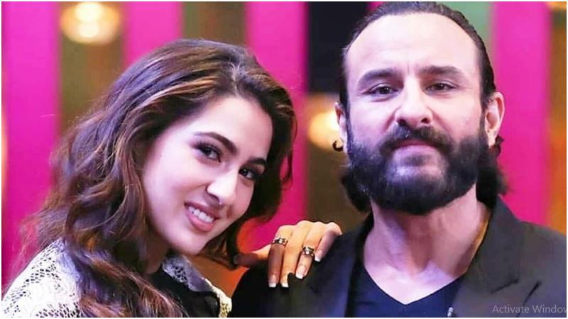 মেয়ে সারা আলি খানের সঙ্গে সাইফ আলি খান